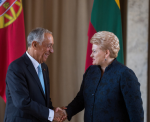 Prezidentė susitinka su Portugalijos Prezidentu Mercelo Rebelo de Sousa | lrp.lt nuotr.