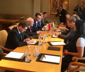 Susitiko Lietuvos ir Lenkijos gynybos ministrai | kam.lt nuotr.