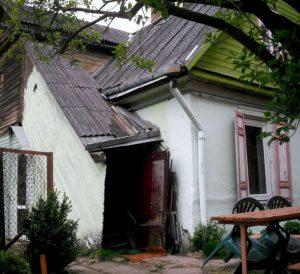 Vilnius, Žvėrynas, Stanislovo Moniuškos g. 32: namo fragmentas iš šiaurės rytų | A. Stabrausko nuotr.