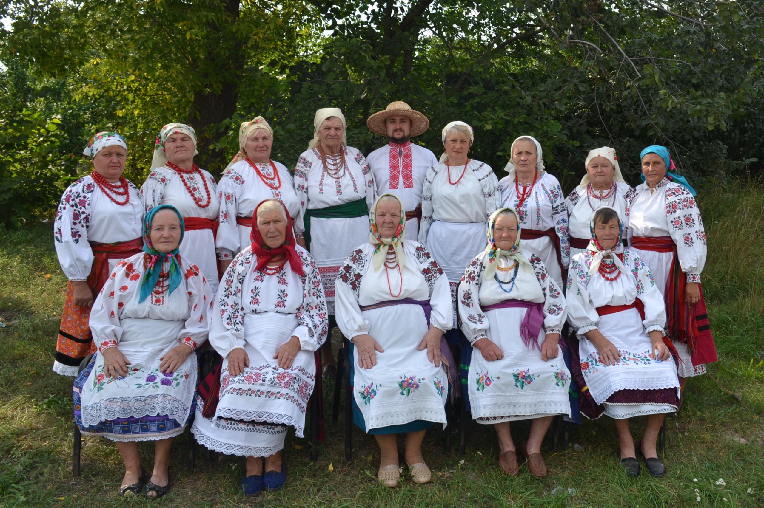 "Autentiškas folkloro ansamblis ""Barvinok"" (Ukraina)   arinuska.lt nuotr."