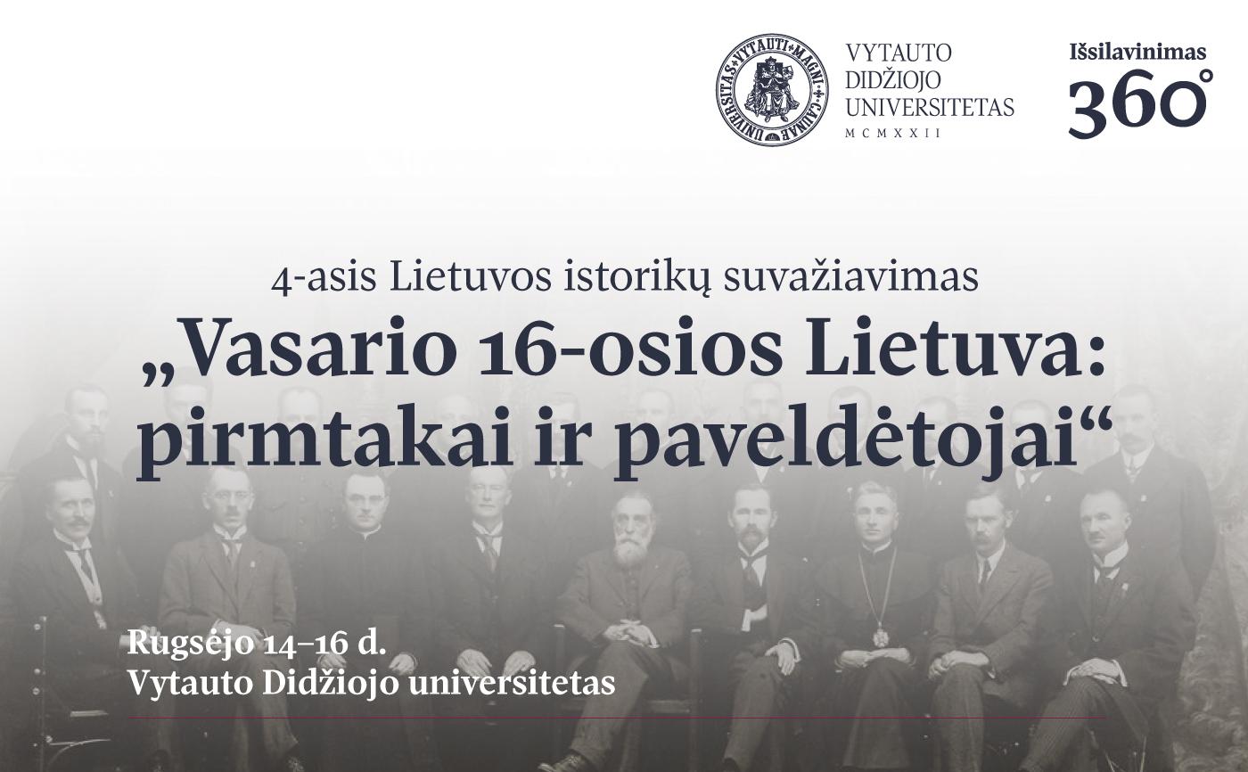 Istorikai prisimins Vasario 16-osios Lietuvą | Rengėjų nuotr.