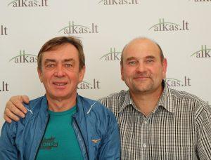 Kęstutis Baleišis ir Gerimantas Statinis | Alkas.lt nuotr.