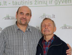 Gerimantas Statinis ir Stasys Venskus | Alkas.lt nuotr.