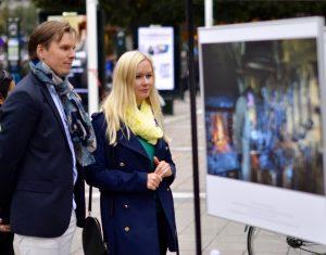 Parodos atidarymas Švedijoje | organizatorių nuotr.