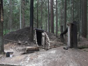 Rietavo uredijos Girenu girininkijos Silu partizanu bunkeris _silale.lt