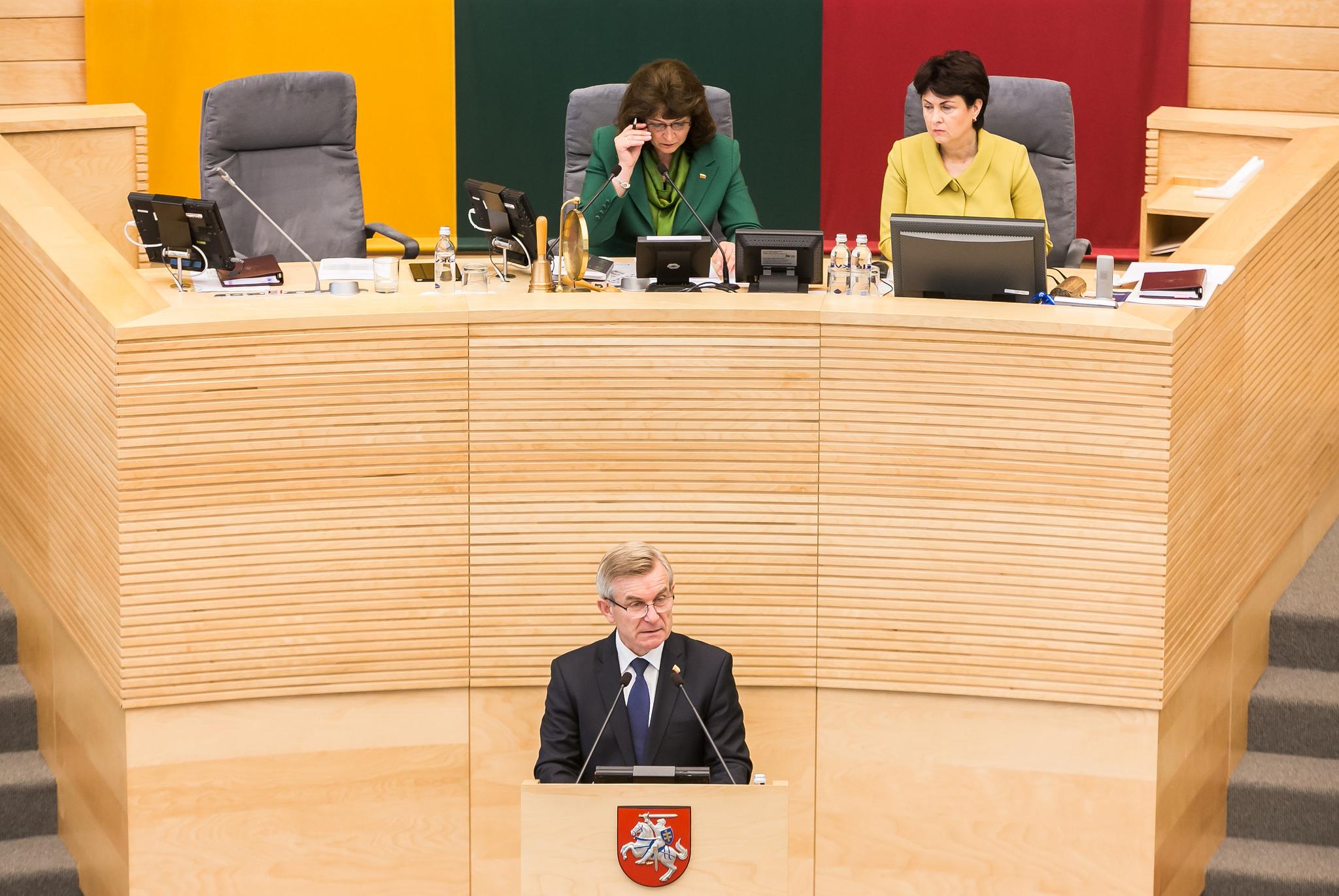 Seimas pradėjo 2017 m. rudens sesiją   lrs.lt nuotr.