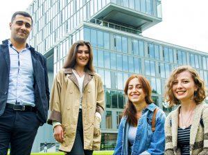 VGTU studentai iš Gruzijo | vgtu.lt nuotr.