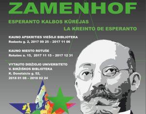 Zamenhofas paroda | organizatorių nuotr.