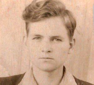 Algimantas Katilius 1948 m. I Archyvinė nuotr.