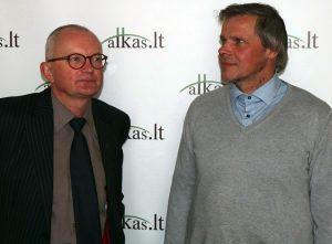 Audrys Antanaitis, Gintaras Karosas | Alkas.lt, A. Sartanavičiaus nuotr.