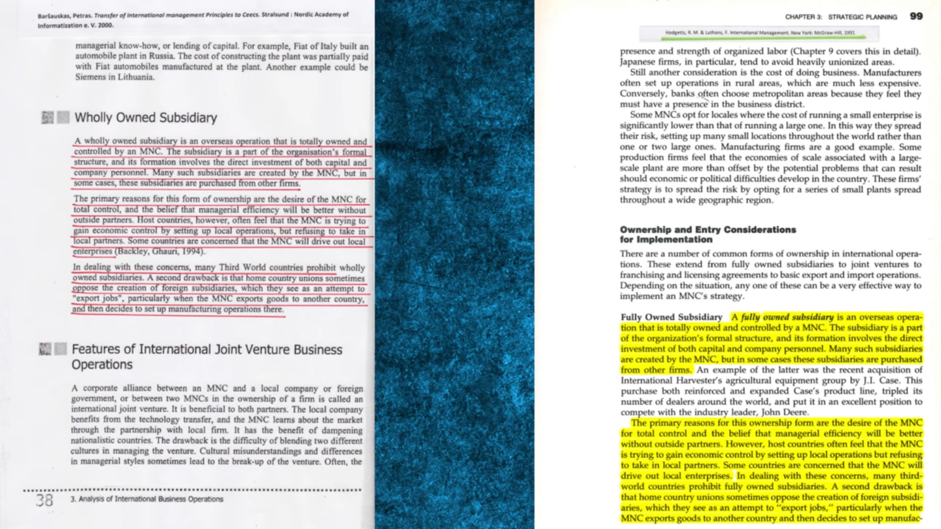 P. Paršausko plagiato ir jo šaltinio palyginimas | Kadras iš D. Raščiaus video apžvalgos