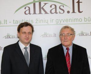Tomas Baranauskas ir Algis Kasperavicius | Alkas.lt nuotr.