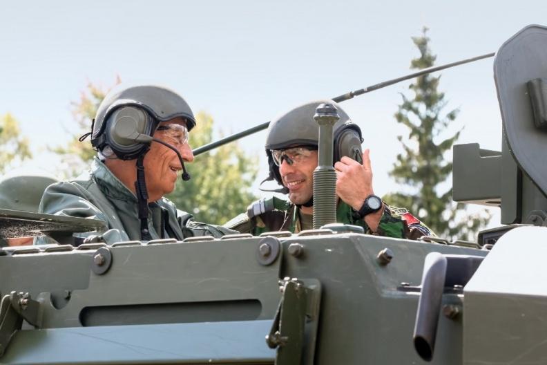 Išlydimi tarnybą Lietuvoje baigę Portugalijos karinių pajėgų kariai | Eugenijaus Ambrozo nuotr.