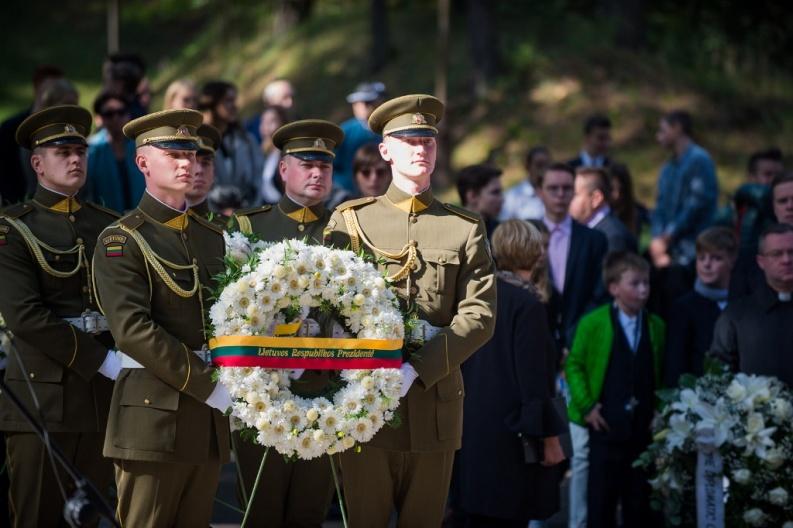 Panerių memoriale pagerbtas Lietuvos žydų genocido aukų atminimas | Alfredo Pliadžio nuotr.
