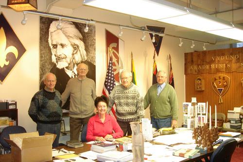 Ruošiama siunta iš Čikagos. Vydūno fondo vadyba, 2010-01-26 | Vydūno fondo nuotr.