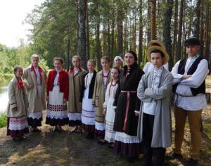 "Tradicinio podliaško baltarusių folkloro studiją ""Žemerva"" (Baltarusija) | arinuska.lt nuotr."