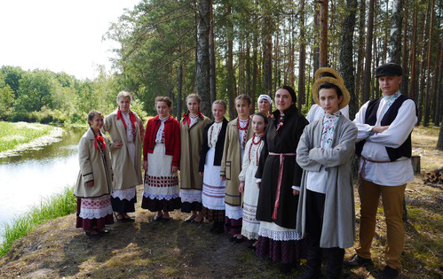 "Tradicinio podliaško baltarusių folkloro studiją ""Žemerva"" (Baltarusija)   arinuska.lt nuotr."