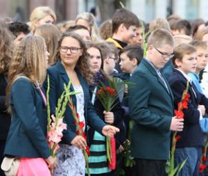 Naujus mokslo metus pradėjo beveik pusė milijono šalies mokinių ir studentų | E. Jankausko nuotr.