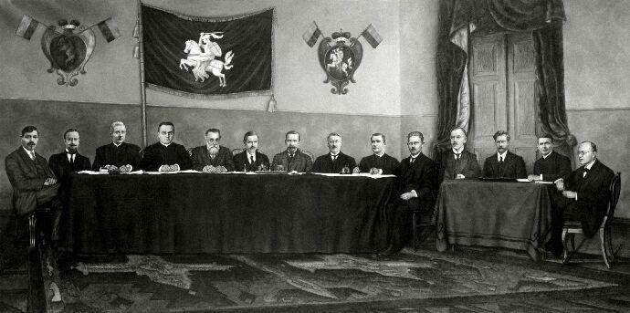 Lietuvių konferencijos prezidiumas (Lietuvos centrinis valstybės archyvas. P-05864) | lrs.lt