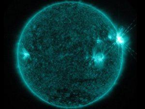 Žybsnis Saulėje 2017-09-06 d. | NASA nuotr.
