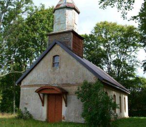 Juozapavo cerkvė, statyta apie 1924 m. Dar prižiūrima. Telšių rajonas, Nevarėnų seniūnija, 2017 m. J. Zvonkuvienės nuotr.