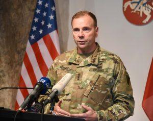 JAV generolas F.B. Hodžis | kam.lt nuotr.