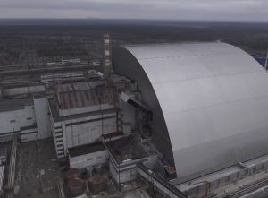 Černobylio atominės elektrinės gaubtas   mokslosriuba.lt nuotr.