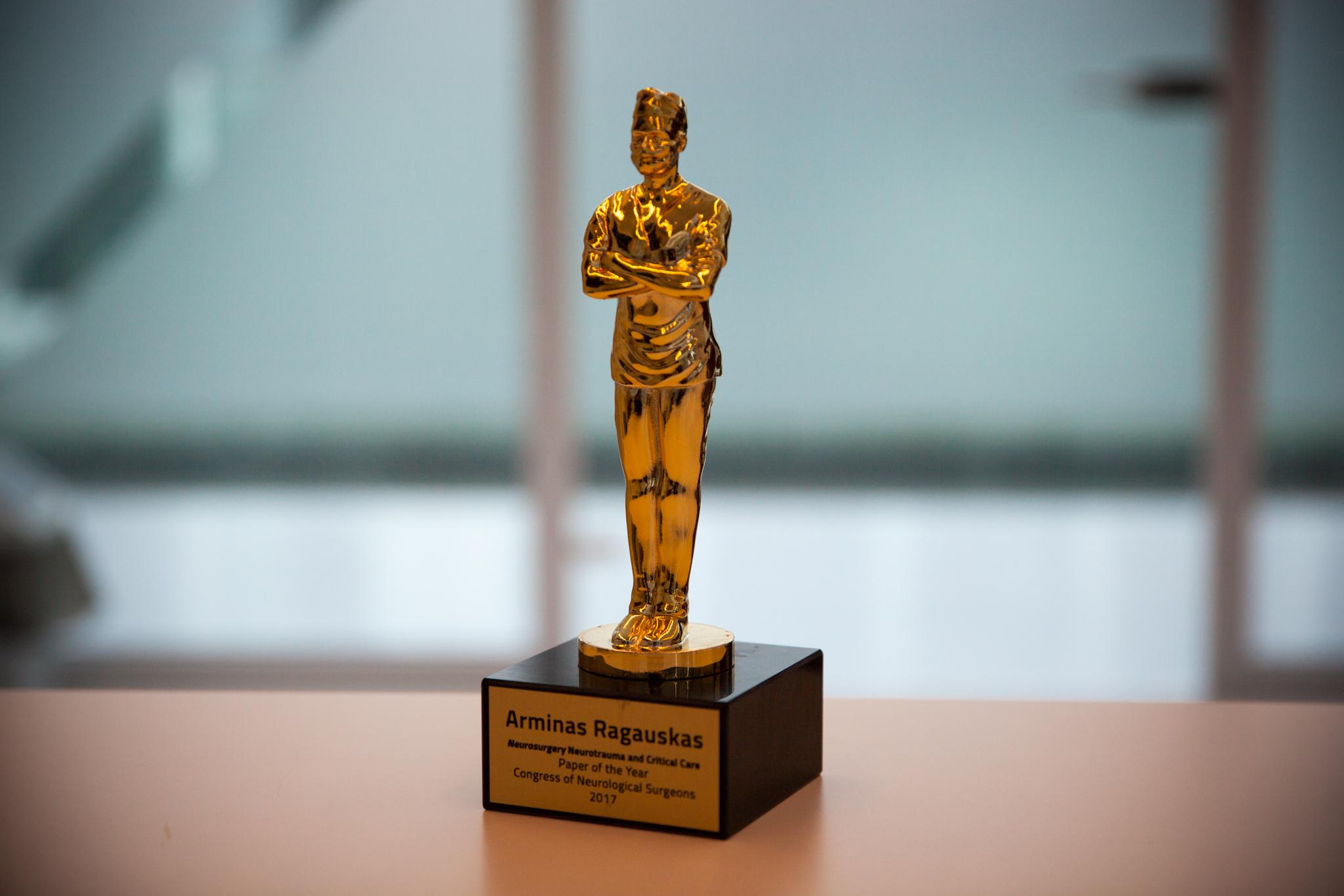 Apdovanojimas | KTU nuotr.