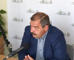 Artūras Černiauskas. Lietuvos profesinių sąjungų konfederacijos pirmininkas | alkas.lt nuotr.