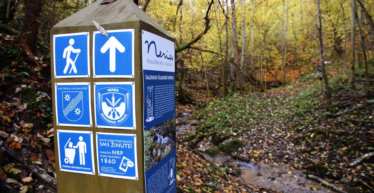 Neries regioniniame parke nužymėtas naujas pėsčiųjų takas | Neries regioninio parko nuotr.