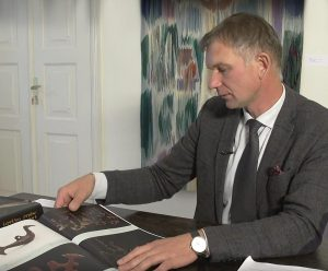 Dailės istorikas dr. Marius Iršėnas | Youtube.com stop kadras