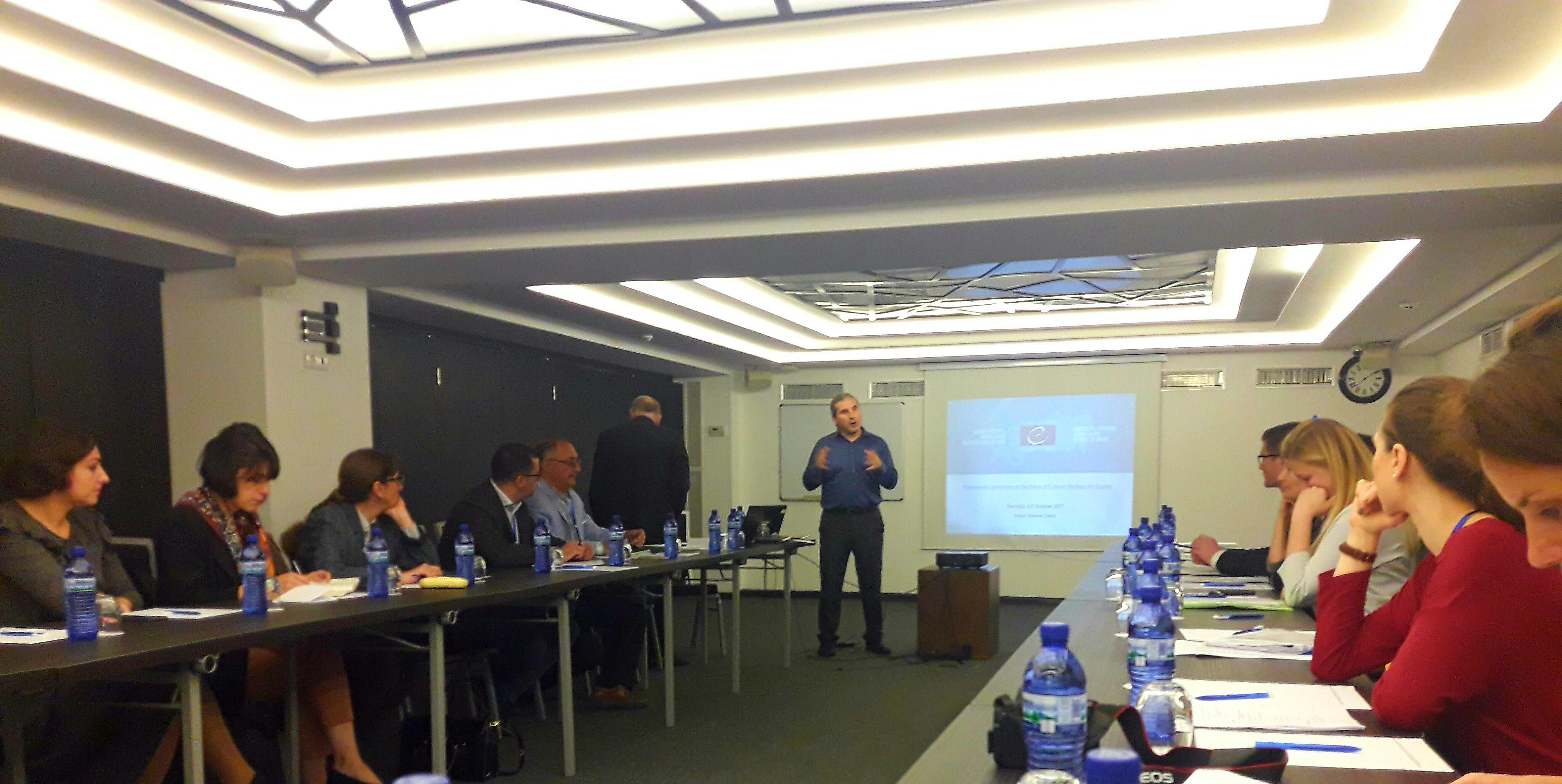 Darbiniai susitikimai | Valstybinės kultūros paveldo komisijos nuotr.