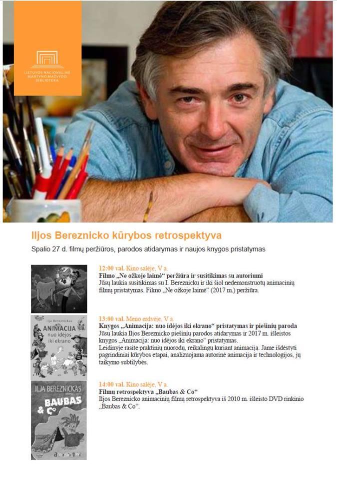 I.Bereznyko kurybos pristatymas