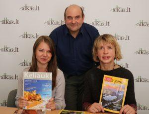 Dalia Smagurauskaitė, Gerimantas Statinis ir Ona Nosevičienė | Alkas.lt nuotr.