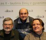 Gintautas Babravičius, Gerimantas Statinis ir Audrius Steikūnas | Alkas.lt nuotr.