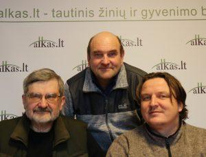 Gintautas Babravičius, Gerimantas Statinis ir Audrius Steikūnas   Alkas.lt nuotr.