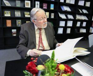 prof. Vytauto Landsbergio asmeninės bibliotekos perdavimas | Alkas.lt, A. Sartanavičiaus nuotr.