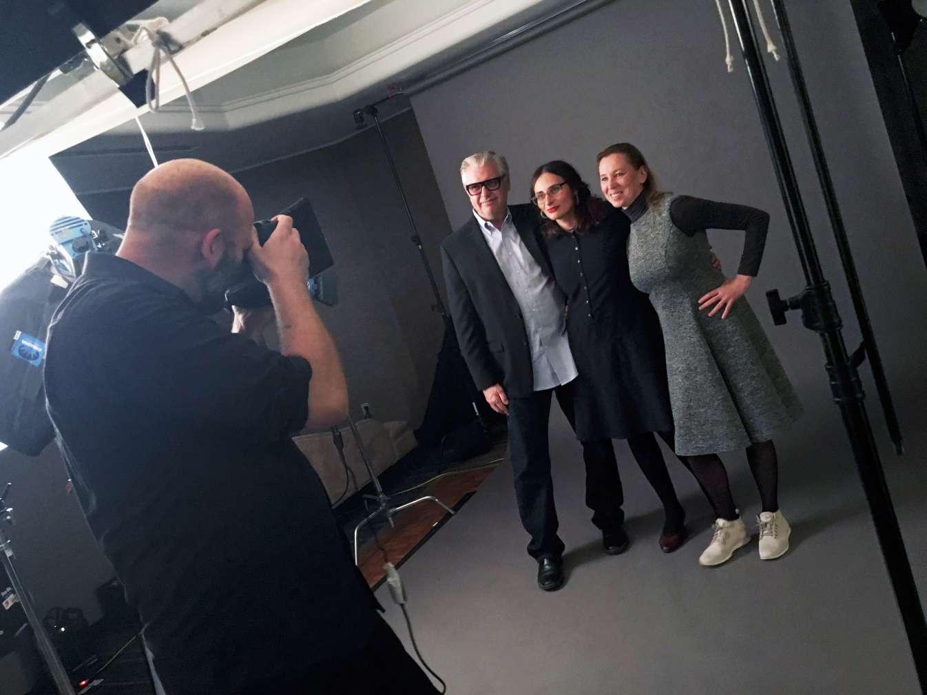 Vyto Ruginis, Eglė Vertelytė, Eglė Mikulionytė Tarptautiniame Toronto kino festivalyje   Rengėjų nuotr.