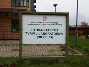Vienintelė šalyje fitosanitarinių tyrimų laboratorija mini dvidešimties metų veiklos jubiliejų | Valstybinės augalininkystės tarnybos nuotr.