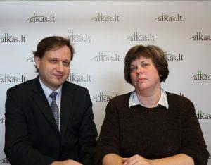 Tomas Baranauskas ir Inga Baranauskienė | Alkas.lt nuotr.