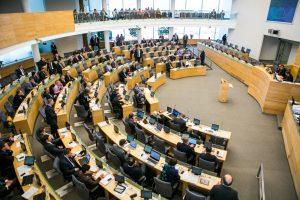 Seimas pritarė siūlymui sudaryti naują Tarybą | lrs.lt nuotr.