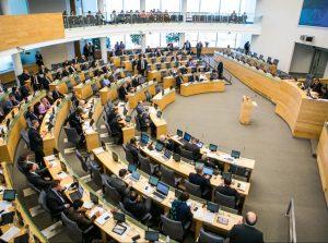 Seimas pritarė siūlymui sudaryti naują Tarybą | LR Seimo nuotr.