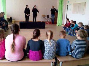 Balto lapo atradimai Šiaurės Lietuvoje | Klaipėdos lėlių teatro nuotr.