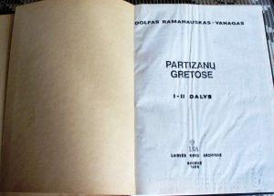 Sovietų laikais pogrindyje išspausdinta A. Ramanausko-Vanago atsiminimų knyga | A. Aleksandravičiaus nuotr.