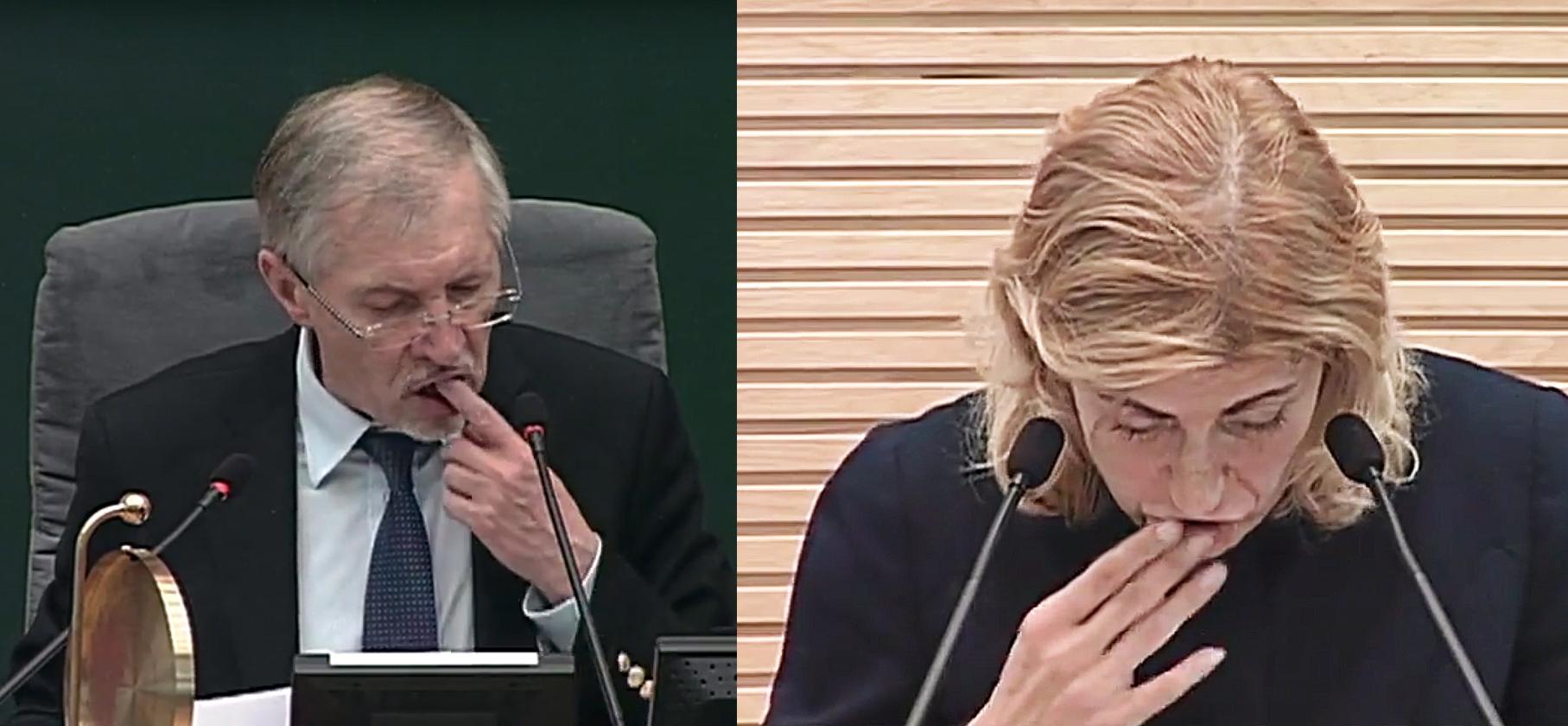 Gediminas Kirkilas ir Liana Ruokytė | youtube.com stop kadrai