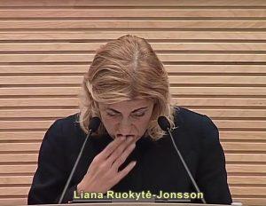 Kultūros ministrė | Youtube.com stop kadras