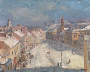 Vytautas Mackevičius. Vilnius. Didžioji gatvė, 1942