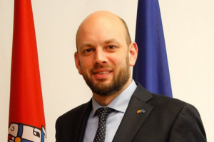 Užsienio reikalų viceministras Darius Skusevičius | Asmeniė nuotr.