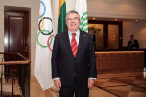 Tarptautinio olimpinio komiteto prezidentas Tomas Bachas (Thomas Bachas) | Vytauto Dranginio nuotr