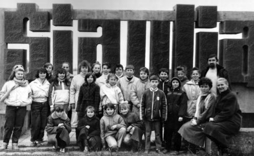 G. Judickienė. 1991 m. | Lietuvos žurnalistų sąjungos nuotr.